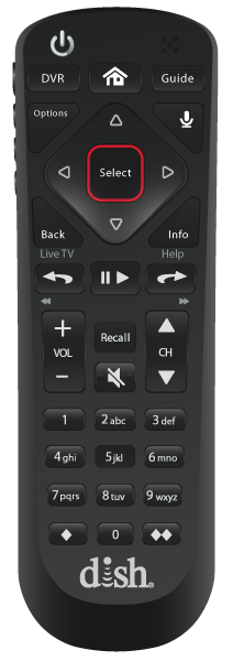 Control remoto de voz - Modesto, California - Azteca Satellite - Distribuidor autorizado de DISH