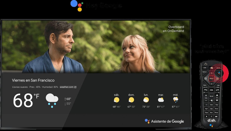 Control Remoto de Voz con Asistente de Google, en español